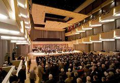The Concert Hall Aarhus, extension  C.F. Møller. Photo: Adam Mørk