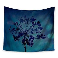 KESS InHouse Grapesiscle by Robin Dickinson Wall Tapestry Size: