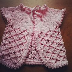 Ravelry: Project Gallery for Baby Cherry Blossom pattern by Sarah Franklin