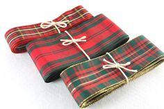 Red and Green Christmas Checker Ribbon| Tartan Ribbon|Gift Wrap Need something to brighten up your gift for your loved ones? Need something to lighten up your christmas tree? This is the perfect...