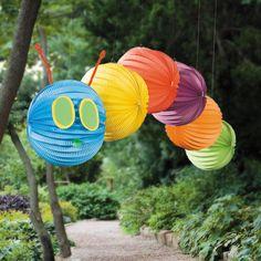 Caterpillar Balloon Lantern - OrientalTrading.com