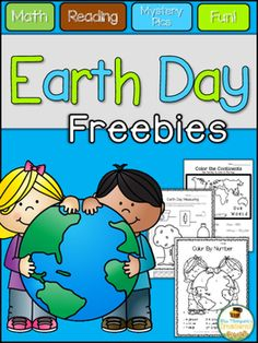 Free - Earth Day - Math - Literacy - Activities - No Prep - Print and Go Enjoy these three free activities from my Earth Day Activities Pack. Math Literacy, Kindergarten Science, Classroom Activities, Classroom Ideas, Earth Day Activities, Free Activities, Holiday Activities, Continents And Oceans, First Grade Science