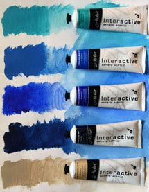 With so many different brands of acrylic paint on the market, how do you know which is best? Here's my choice of my favorite acrylics.