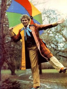 The Sixth Doctor (Colin Baker) - Doctor Who.  One of the most colourful costumes from television