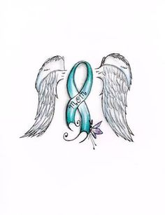 Image result for bile duct cancer ribbon tattoo
