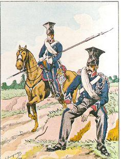 MINIATURAS MILITARES POR ALFONS CÀNOVAS: UNIFORMES ( 18 ) DEL PRIMER IMPERIO . ( Colección BUCQUOY) tenue de route 1812