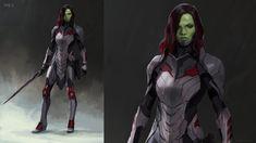 Marvel Concept Art, Doctor Who Funny, Avengers Alliance, Zoe Saldana, Visual Development, Marvel Vs, Marvel Characters, Guardians Of The Galaxy, Cartoon Network