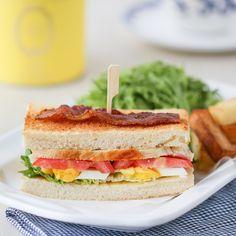 The Ladurée Club Sandwich | Thirsty For Tea