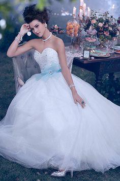 Vestido de casamento inspirado na Cinderella