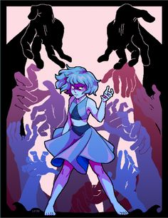 Lapis Lazuli SU (Steven Universe) Mad undertale style really like this drawing it's beautifull Steven Universe Lapis, Perla Steven Universe, Steven Universe Movie, Universe Art, Lapis Lazuli Steven, Lapis And Peridot, Cartoon Network Shows, Steven Univese, Lapidot