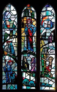 The Teachings Window in Boe Chapel