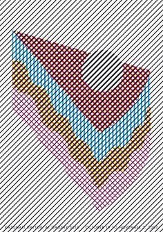Tokyo graphic exhibition - Kazunari Hattori (ケーキ)