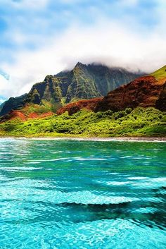 Nepali Coast, Kauai, Hawaii. I have been here twice and it is absolutly beautiful