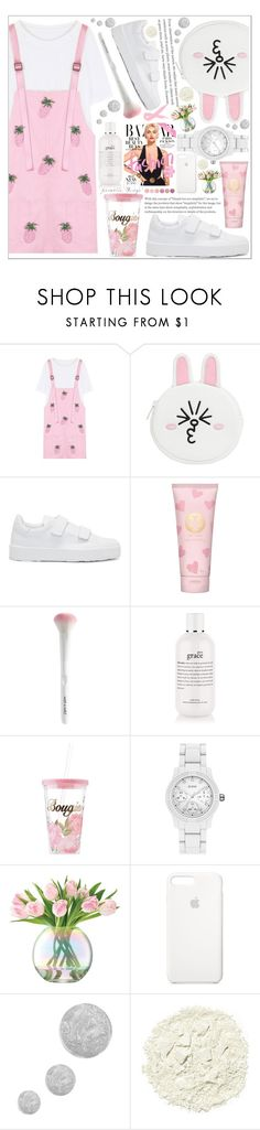"""style"" by lena-volodivchyk ❤ liked on Polyvore featuring WithChic, Jil Sander, Tory Burch, Charlotte Russe, GUESS, LSA International, Apple, Topshop, Illamasqua and Deborah Lippmann"