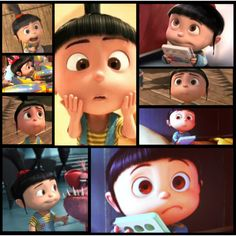 Adoption!! for people who haven't seen Despicable me the little girl is Agnes she was a orphan