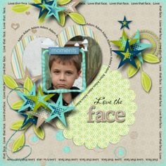 scrapbook page idea from Lindsay Jane