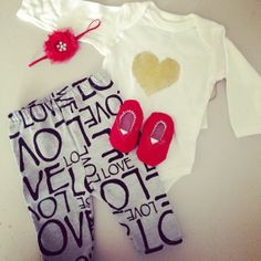 Baby girl valentines day outfit gold glitter by bellapiaclothingco, $30.00