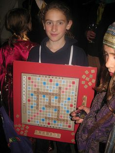 Scrabble costume 1