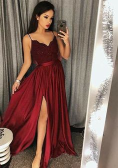 V Neck Prom Dress, Prom Dress Ball Gown, Lace Prom Dress, Bridesmaid Dresses Prom Dress V-neck Bridesmaid Dresses 2018 Outlet Feminine 2019 Bridesmaid Dresses Spaghetti Strap Prom Dresses Long Lace V Neck Maxi High Split Evening Ball Gowns 2019 Split Prom Dresses, Straps Prom Dresses, V Neck Prom Dresses, Prom Dresses 2018, Lace Bridesmaid Dresses, Dress Prom, Dress Formal, Long Dresses, Dresses Dresses