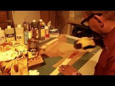 ▶ How To Make A Leather Tote Bag With A Fabric Lining Part 6 - YouTube