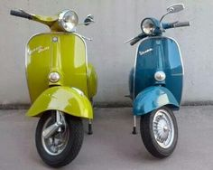vespa color!