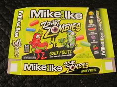Mike And Ike, Zours Zombies. (2017)