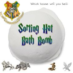 Sorting Hat Bath Bombs - Harry Potter Inspired by Scentd on Etsy https://www.etsy.com/uk/listing/273900754/sorting-hat-bath-bombs-harry-potter
