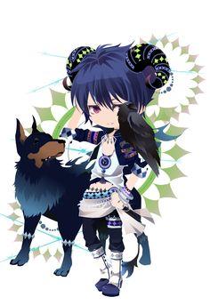 Anime Chibi, Anime Art, Chibi Characters, Chibi Girl, Cocoppa Play, Cute Chibi, Manga Games, Cute Little Girls, Anime Outfits