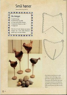 Molde da Galinha Tecido - Huhn You are in the right place about diy sewing ideas Here we offer you the most beautiful picture - Diy Projects To Try, Craft Projects, Sewing Projects, Sewing Ideas, Chicken Pattern, Chicken Crafts, Chickens And Roosters, Fabric Birds, Country Crafts