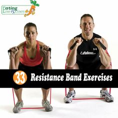 33 Resistance Band Exercises,Resistance,Band Exercises,Exercises