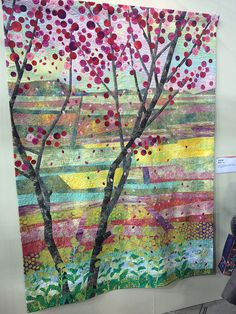 Springtime, 2013 Tokyo Quilt Show.  Photo by SewBlossomHeart, via Flickr