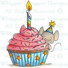 Whipper Snapper Designs is an expansive online store selling a large variety of unique rubber stamp designs. Cute Birthday Wishes, Birthday Greetings, Birthday Cards, Birthday Cartoon, Happy Paintings, Birthday Images, Watercolor Cards, Cute Illustration, Fabric Painting
