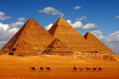 Visit the pyramids