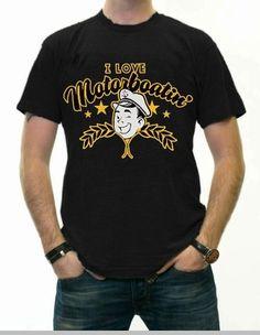 Wedding Crashers T-Shirt - I Love Motorboatin' T-Shirt