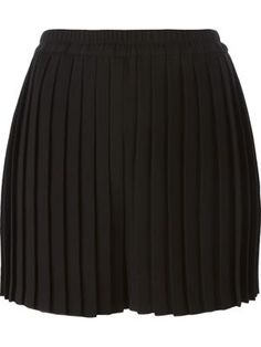 geplooide shorts