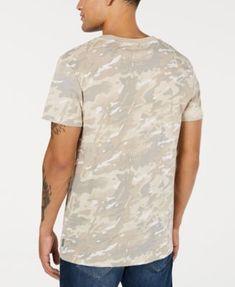 294ce526 G-Star Raw Men's Flag Logo Camo T-Shirt, Created for Macy's - Snow Camo S