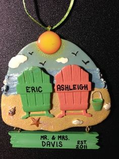 How adorable is this personalized ornament?