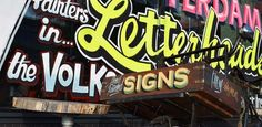 Jerry Ronda's 2016 Letterheads Review Signwriting, Letterhead, Broadway Shows, Neon Signs