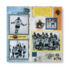 Primary Hockey Additions Scrapbook Layout Idea from Creative Memories http://projectcenter.creativememories.com/photos/sports_project_ideas/primary-hockey-additions-scrapbook-layout-idea.html