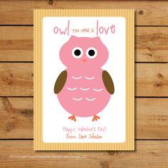 Owl #Valentine