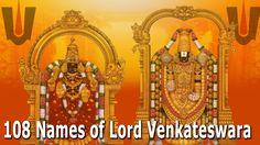 #venkatesastotram #108namesoflordbalaji - 108 Names of Lord Venkateswara   Sri Venkateswara Ashtottara Shathanaamaavali