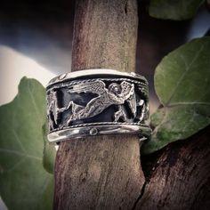 #ring #gyűrű #egyediékszer #showmeyourrings #masterpiece #highjewellery #ezüst #ezüstékszer  www.ekszercenter.hu