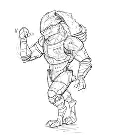 mass effect 3 coloring pages - photo#44