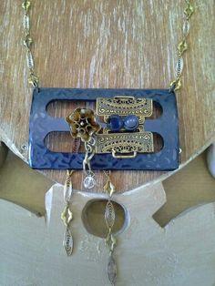 #necklace #uniquehandmade #bucklebakelite #chains #mazzinidonnalugo #instagram #facebook