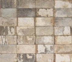 CIR Havana Malecon x Glazed porcelain Wall and Floor Tiles Brick Look Tile, Brick Tile Floor, Wood Tile Floors, Wall And Floor Tiles, Cement Tiles, Porch Tile, Kitchen Eating Areas, Stone Backsplash, Backsplash Ideas