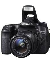 Canon EOS 70D + EF-S 18-55IS STM kamera