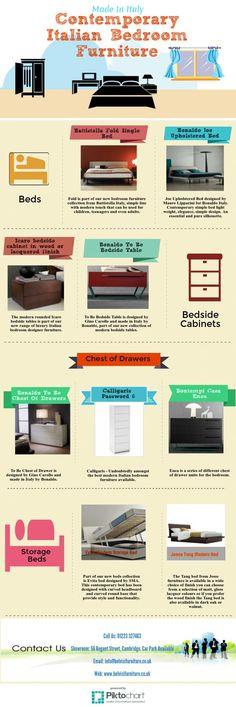 #Infographic   #Contemporary #Italian #Bedroom #Furniture