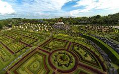 Тропический сад мадам Нонг Нуч - Экскурсии в Паттайе, Сад Орхидей, экскурсия рекомендована к посещению всей семьей, Golden Sand mu-kohchang.com