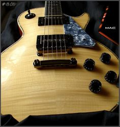 Ravens West Guitars RWG Bill Mackechnie Signature RM300MAC No:9-74 Natural Flame