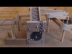 Murmelmaschine, marble machine, Knikkerbaan, ausgefallene Murmelbahn - YouTube